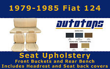1979-1985 Fiat 124 spider Seat Cover Upholstery COLOR CHOICE