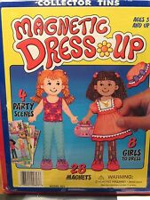 Magnetic Paper DOLLS  Dress UP NEW Groovy Girls