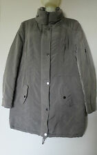 BIANCA MANTEAU PARKA FOURRE TAILLE FR40, EU38, IT44, UK12, US8 GRIS
