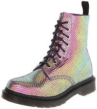Dr. Martens Pascal Violet Mirror Shif Suede Boots Women's Size 6- NEW