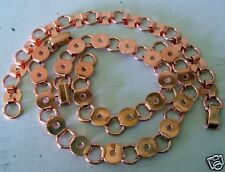 Copper Bracelets Findings Forms blanks ring and connector for button jewelry 8mm