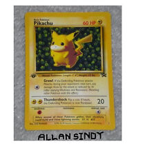 IVY PIKACHU PROMO ERROR 1st Edition Jungle Pokemon Card