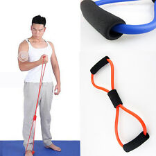 Resistance Training Bands Rope Tube Workout Exercise For Yoga 8 Type Choice