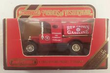 matchbox models of yesteryear Y-3 1912 ford model T red crown gasoline 1986
