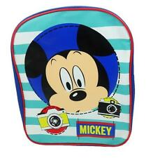 Disney Mickey Mouse Say Cheese Boys Kids Backpack Rucksack School Bag OFFICIAL