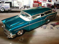 100% HOT WHEELS 1957 CHEVY NOMAD LIMITED EDITION FUNNY CAR 1/64