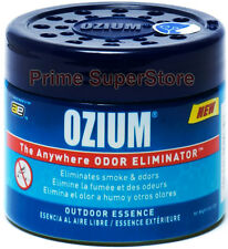 Ozium Outdoor Essence Smoke & Odor Eliminator Air Freshener Car Home 4.5 oz Gel