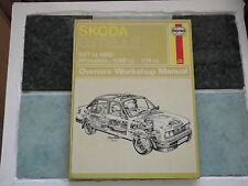 SKODA ESTELLE 1977 - 1980 HAYNES WORKSHOP MANUAL