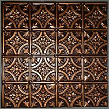 Ceiling Tile Faux Tin Brass, Copper, Silver, Black  #150