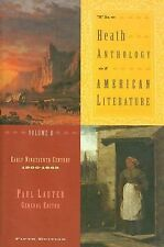 The Heath Anthology of American Literature Vol. B : Early Nineteenth Century,...