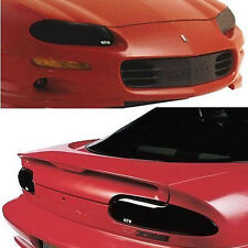98-02 Chevy Camaro Smoke GTS Acrylic Headlight Taillight Covers GT0325S GT029