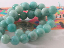 1 filo di 42 perle in amazonite da 10 mm lungo 42 cm top quality