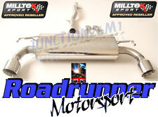 Milltek Exhaust Golf R32 MK4 Cat Back Non Res System GT100 Tails SSXVW136