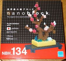 Plum Bonsai Nanoblock Micro Sized Building Block Constructrion Toy Kawada NBH134
