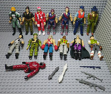 Lot de 14 Figurines G.I. Joe - Hasbro Vintage