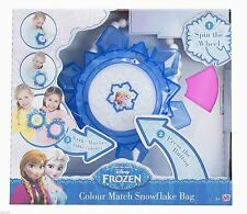 NEW Disney Frozen Princess Snowflake Colour Changing Bag Girl Light up Purse Toy
