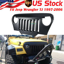 Angry Bird Front Matte Grill Grille For Rubicon Sahara TJ Jeep Wrangler 97-06