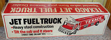 Vintage TEXACO Jet Fuel Truck BOX ONLY Dealer Promo Toy 1960s Increases Value