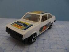 Lesney Matchbox Superfast No. 9 FORD ESCORT CAR RS2000 1978 Made in England