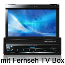 "7"" Bildschirm DVB-T AUTORADIO mit Bluetooth Navigation GPS DVD USB MP3 CD 1 DIN"