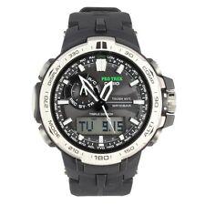 Acción Casio prw-6000-1er Pro Trek solar radio reloj nuevo y original