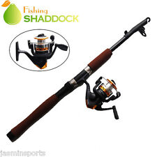 2.1m Fishing Rod and Spinning Reel Combo Portable Telescope Fishing Rod Reel Set