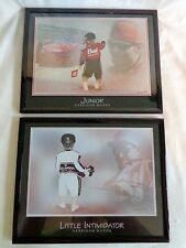 Harrison Woods Framed Picture Set of 2 Earnhardt Little Intimidator and Junior
