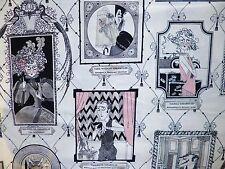 Fq Ghastlie family portraits sorcière spooky hanté tissu halloween un henry