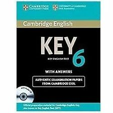 Cambridge English Key 6 Self-study Pack (Student's Book with Answers and Audio C