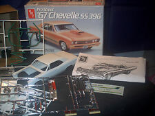 Model Parts Lot 67 Chevelle SS 396 Not Complete