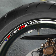 BMW R 1200 GS ADVENTURE WHEEL RIM STICKERS B