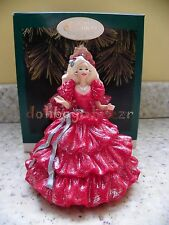 Hallmark 1996 Happy Holidays Club Edition Barbie Doll Christmas Series Ornament