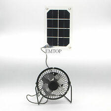 Solar semi-flexi Powered Fan Ventilation for Home Cooling  little cooling system