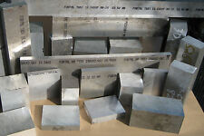 Aluminum Plate Fortal HR T651 Aircraft Quality  Block Bar 15+ Pounds