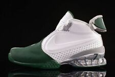 Nike Zoom Michael Vick II Sneakers, New York Jets White / Green 599446-100 Sz 6