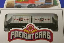 Bachmann N Scale New Haven Flat Car with Containers Train Car -New In Box-