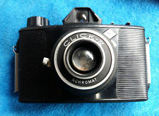 VINTAGE AGFA CLICK 4 ACHROMAT GERMANY CAMERA (NOT TESTED )