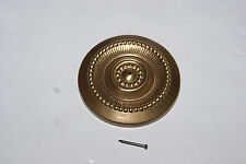 SOLID BRASS ROSETTE FOR TALL CLOCKS NEW CLOCK PARTS