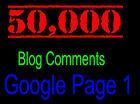 ★ 50,000 SEO Website Link Building Backlinks Blog Commenting Backlink + REPORT ★