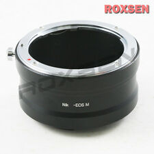 Roxsen Nikon F mount Nikkor AI lens To Canon EOS M EF-M mount Camera Adapter