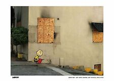 BANKSY PRINT LIMITED EDITION FRAMED PRINT CHARLIE BURN BRAND NEW LATEST IMAGES