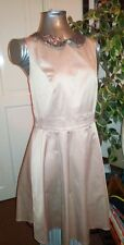 Ladies Size 14 Dress Debenhams Gold Sequin Skater Party Dress Special Edition