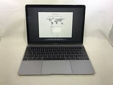 MacBook 12 Space Gray 2015 1.1 GHz Core M 8GB 256GB Excellent