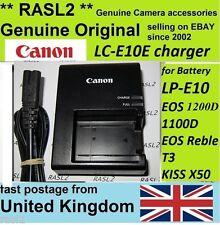 Autentico Originale Canon Caricatore LC-E10e EOS 1100D 1200D Rebel T3 T5, Bacio