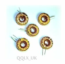 5PCS 100uH 100UH 3A coil wire wrap toroid inductor choke - UK seller