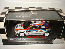 MINICHAMPS 430028904 FORD FOCUS RS WRC N°4 WINNERS RALLY ARGENTINA 2002 au 1/43°