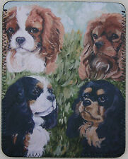 CAVALIER KING CHARLES SPANIEL DOG ipad cover Sandra Coen artist sublimation