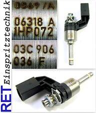 Einspritzdüse 03C906036F VW Golf 5 1,4 TSI gereinigt & geprüft