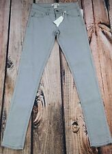 "forever 21 i love h81 gray skinny jeans womens  sz 24 NEW with tags 31"" inseam"