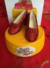 Wizard Of Oz Christmas Hallmark Keepsake Ruby Slipper Light Ornament New In Box